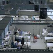 Vista de pájaro del Hospital Enfermera Isabel Zendal
