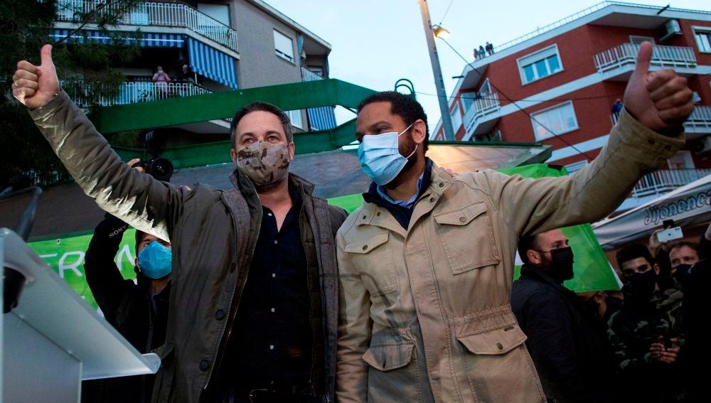 Santiago Abascal e Ignacio Garriga