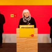 La cabeza de lista de la CUP en las elecciones catalanas, Dolors Sabater.