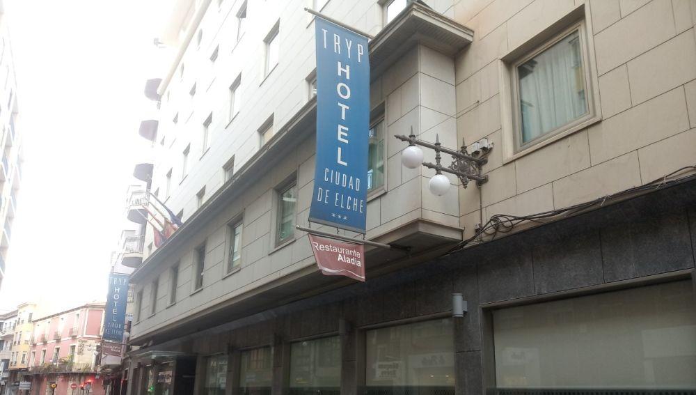 Hotel en el centro de Elche.