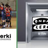 El Club Voleibol Elche sube esta semana con Ascensores Serki.