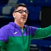 Fotis Katsikaris, entrenador de Unicaja de Málaga