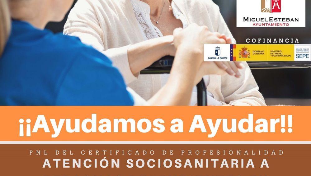 Buscan empresas de prácticas para alumnos del curso de Atención Sociosanitaria a personas dependientes