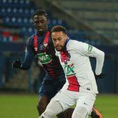 Neymar podría perderse el partido de Champions ante el Barça por molestias en el aductor