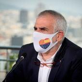 El candidato de Ciutadans en las elecciones de Cataluña, Carlos Carrizosa
