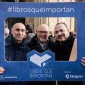 Una de las ediciones de Libros que Importan celebradas en Zaragoza