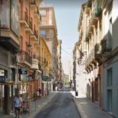 La calle Gerona de Alicante
