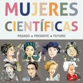 Cartel Día Internacional de la Mujer y la Niña en la Ciencia