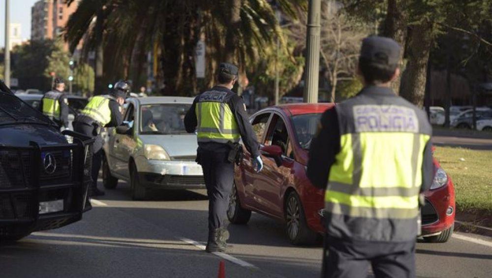 Control de la Policía