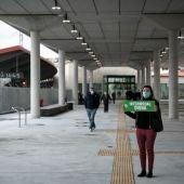 O Psoe reclama o goberno central alternativas a actual estación intermodal