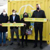 """Ourense súmase ao reto de reciclaxe """"aumenta un 10% as achegas o contendor amarelo"""""""