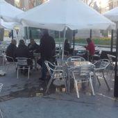 Una terraza en Ciudad Real