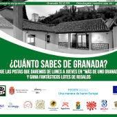 """Más de Uno Granada estrena la sección """"¿Cuánto sabes de Granada?"""" sobre nuestro patrimonio cultural"""