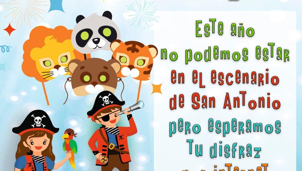 El Ayuntamiento celebrará un concurso infantil de disfraces de Carnaval vía online