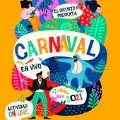 Cartel Carnaval Distrito II Alcalá de Henares