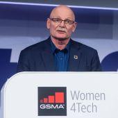 El consejero delegado de la asociación GSMA, John Hoffman.