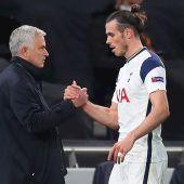 Mourinho y Gareth Bale