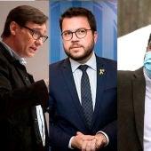Los candidatos de la CUP, PSC, ERC y VOX en Cataluña
