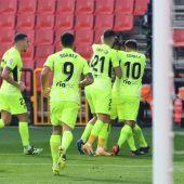 Llorente y Correa dan la victoria al Atlético contra el Granada en el Nuevo Los Cármenes