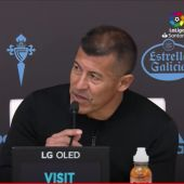 Jorge Almirón anuncia su decisión de abandonar como entrenador del Elche.