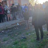 La manifestación finalizó en el barrio donde vive la familia conflictiva