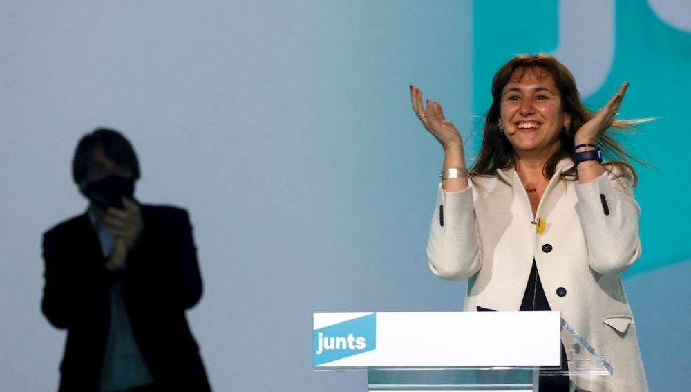 Laura Borràs, la candidata de Junts especialista en literatura medieval que puede gobernar Cataluña