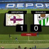 Deportivo 1-Guijuelo 0