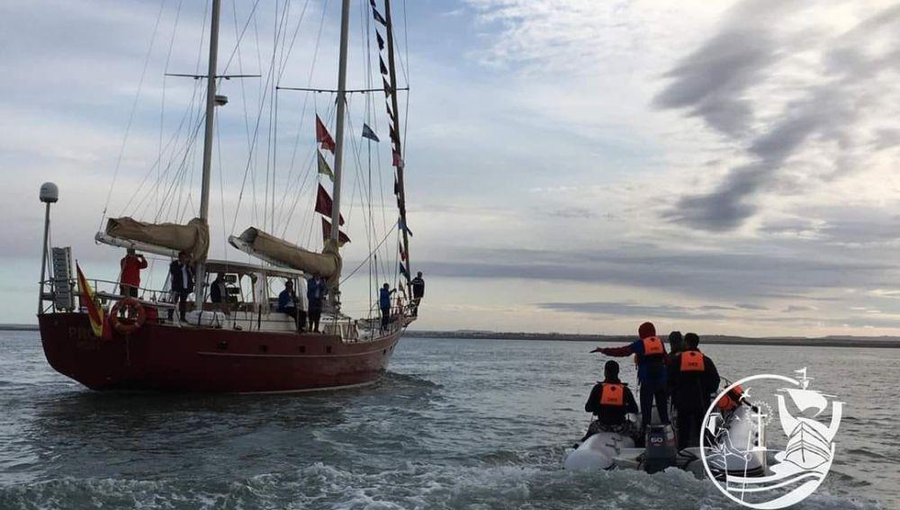 La expedición llegó a El Callao el día 23 de marzo