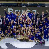 El Barcelona conquista la Copa del Rey de baloncesto