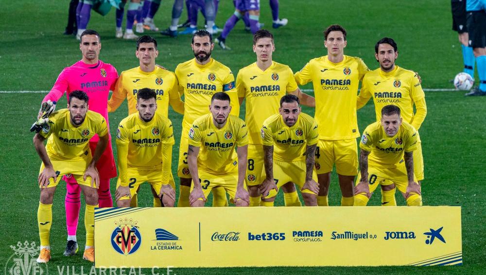 Once del Villarreal ante el Betis