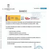 El Ayuntamiento allandés ofrece 3 puestos de trabajo