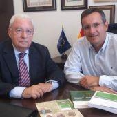 Diego Conesa y José Molina
