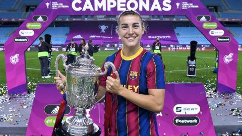 Patri Guijarro, jugadora del F.C Barcelona