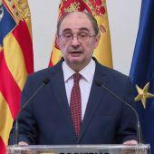 Javier Lambán seguirá trabajando al frente del Gobierno de Aragón mientras se somete a tratamiento