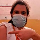 El doctor Iñaki Alegría denunciando la inexistencia de vacunas contra el coronavirus en Etiopía