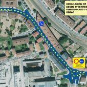 O Concello inicia obras de mellora do firme nos accesos ao Complexo Hospitalario