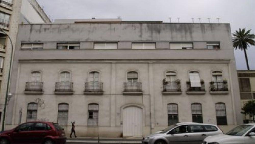 Fachada de un edificio de Sevilla