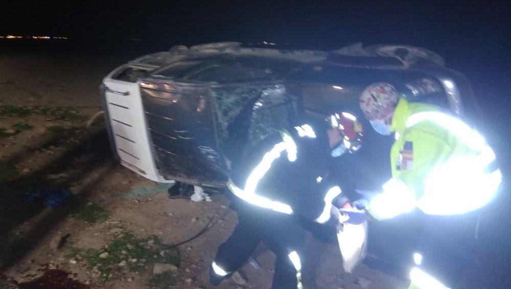 El accidente de tráfico tuvo lugar el pasado domingo