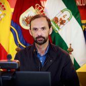 El alcalde de Sanlúcar, Víctor Mora