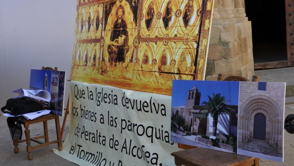 Berbegal y Peralta de Alcofea confían en que la Diócesis de Huesca siga los pasos de Barbastro