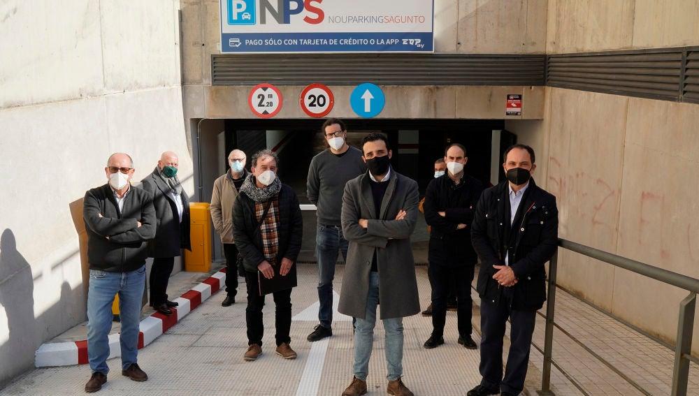 Esta semana abre el aparcamiento subterráneo de la avenida Doctor Palos después de varios años bloqueado