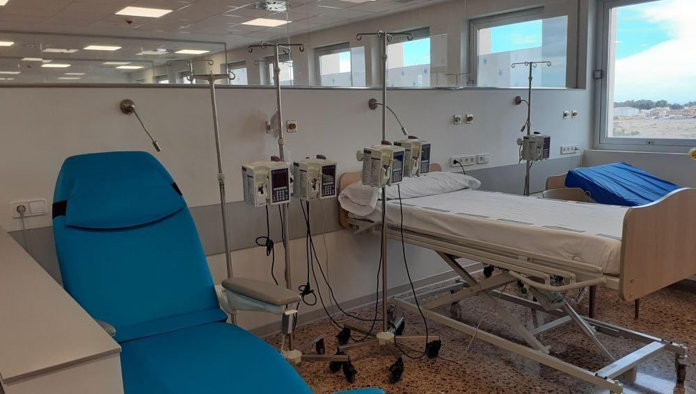 El Hospital de Sagunto ha puesto en marcha durante estos días el nuevo Hospital de Día de Hemato-Oncología que acogerá un total de 9 camas y 12 sillones