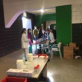 Test PCR en los Campos de El Sardinero