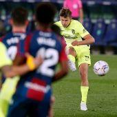 Marcos Llorente marca ante el Levante