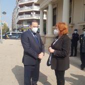 Ábalos defiende la actuación de la delegada en la protestas a favor de Hásel