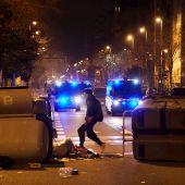 Nueva noche de disturbios en varias ciudades españolas en apoyo a Pablo Hasél