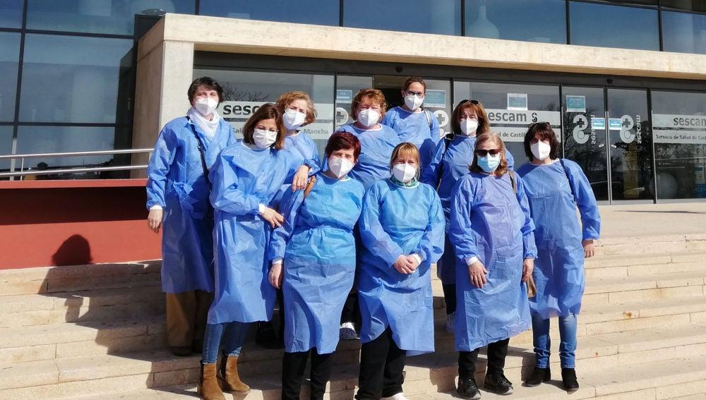 Las profesionales del SAD argamasillero reciben la primera dosis de la vacuna contra la COVID-19