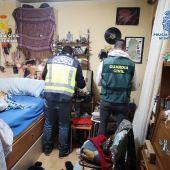 Desarticulados dos puntos de venta de droga en Palencia capital y en Saldaña