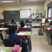 Alumnos del Colegio Diego de Colmenares