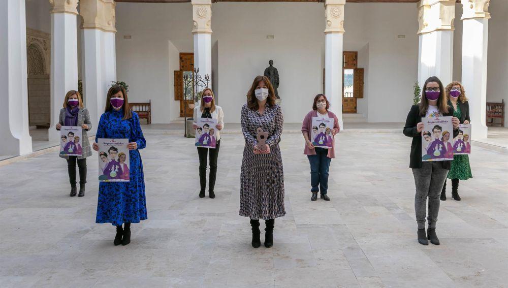 Amparo Álvarez, Manuela Simón, Gloria Merino o Boticaria García, mujeres reconocidas por C-LM con motivo del 8-M